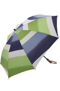 <ELLE SHOP> PLAIN PEOPLE プレインピープル 【breezy blue】晴雨兼用日傘UV加工 グリーン画像
