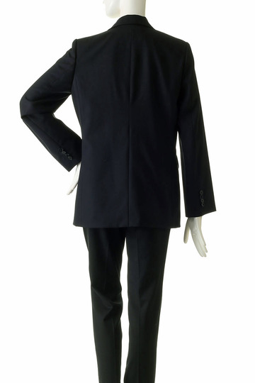 プレインピープル/PLAIN PEOPLEのウールトロテーラードジャケット(ブラック/H1573FJ 708)