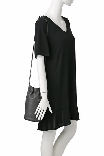 プレインピープル/PLAIN PEOPLEの【REN】巾着バッグ(グレー/H1588PBG617)