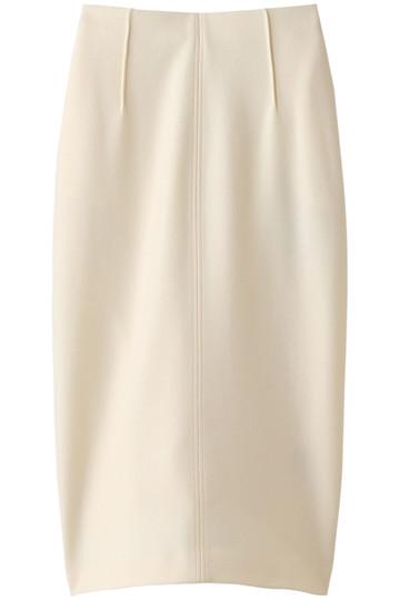 プレインピープル/PLAIN PEOPLEのスーパー140ウールメルトンスカート(ホワイト/A1583US 421)