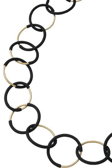 プレインピープル/PLAIN PEOPLEの【MATERIA DESIGN】ネックレス(ブラック/A1596PAC708)