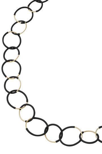 プレインピープル/PLAIN PEOPLEの【MATERIA DESIGN】ネックレス(ブラック/A1596PAC709)