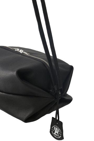 プレインピープル/PLAIN PEOPLEの【REN】レザーショルダーバッグ(ブラック/A1596PBG607)