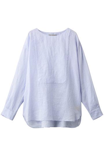 プレインピープル/PLAIN PEOPLEのラミープルオーバーシャツ(ライトブルー/A1591FB 717)