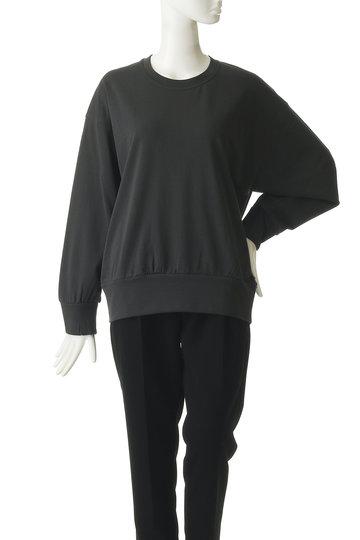 プレインピープル/PLAIN PEOPLEのコットンミニ裏毛プルオーバー(ホワイト/A1591UB 419)