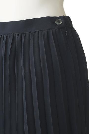 プレインピープル/PLAIN PEOPLEのトリアセソフトツイストプリーツスカート(ネイビー/A1591FS 712)