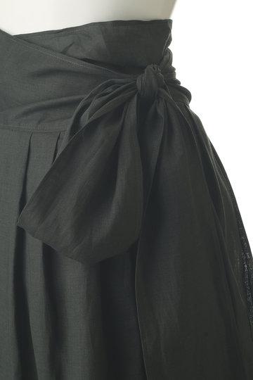 プレインピープル/PLAIN PEOPLEのハードマンリネンスカート(カーキ/A1591FS 271)