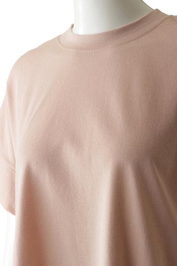 プレインピープル/PLAIN PEOPLEのコットンミニ裏毛半袖プルオーバー(ホワイト/A1591UB 436)