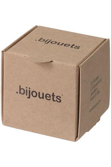 プレインピープル/PLAIN PEOPLEの【.bijouets】ピアス(ブラック/A1596PAC771)