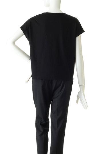プレインピープル/PLAIN PEOPLEの【plainless】ペルヴィアン天竺プリントTシャツ(ブラック/A1594UB 403)
