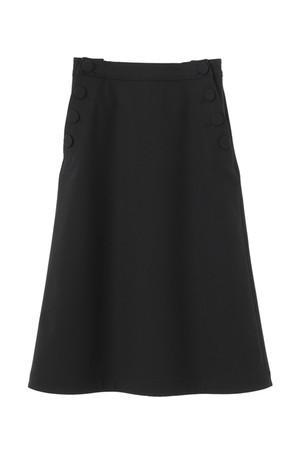 【予約販売】フロントボタンAラインスカート ザ ヴァージニア/The Virgnia