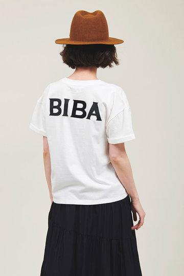 ザ ヴァージニア/The VirgniaのBIBAプリントT(オフホワイト/8069302)