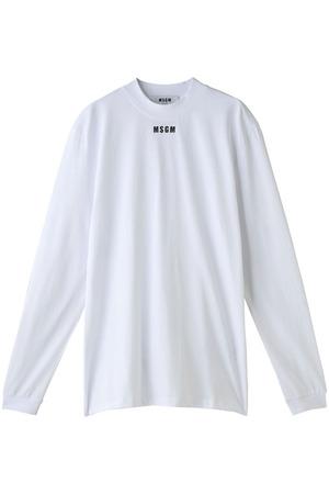 【MEN】ロゴハイネックTシャツ エムエスジーエム/MSGM