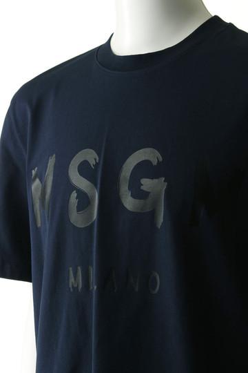 【MEN】手書きロゴTシャツ エムエスジーエム/MSGM