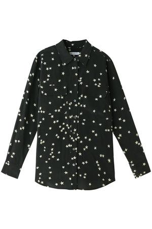 SLIM SIGNATURE スタープリントシルクシャツ