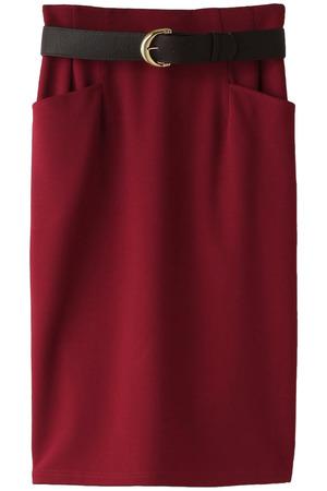 【予約販売】ベルト付きタイトスカート トランテアン ソン ドゥ モード/31 Sons de mode