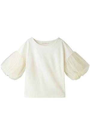 チュールスリーブドレスTシャツ トランテアン ソン ドゥ モード/31 Sons de mode