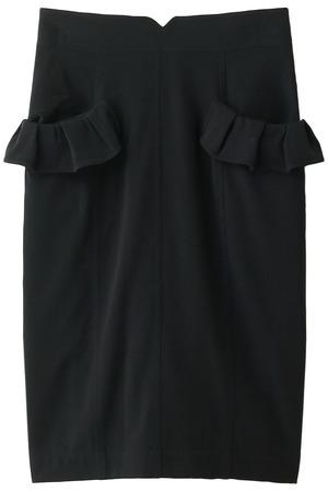 フリルポケット付きタイトスカート トランテアン ソン ドゥ モード/31 Sons de mode
