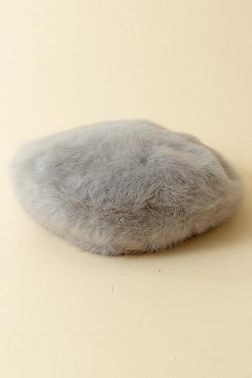 31 Sons de mode トランテアン ソン ドゥ モード アンゴラベレー帽 グレー