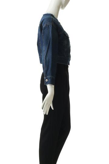 トランテアン ソン ドゥ モード/31 Sons de modeのショート丈デニムジャケット(ブルー/0029150)