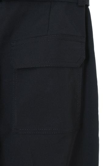 トランテアン ソン ドゥ モード/31 Sons de modeのリボン付きベイカーパンツ(カーキグリーン/0049101)