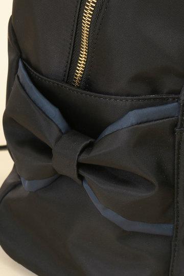 トランテアン ソン ドゥ モード/31 Sons de modeのサイドリボンナイロンリュック(ブラック/0109113)