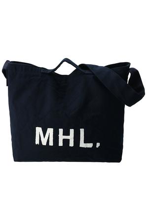 【MHL.】コットンキャンバスバッグ