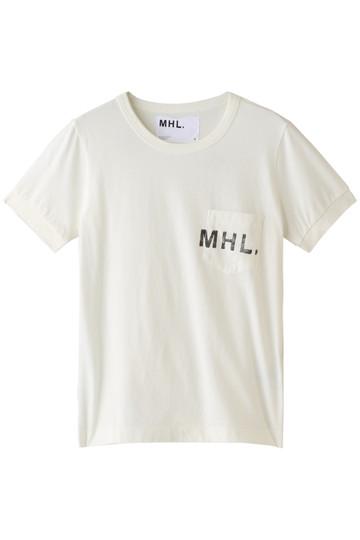 MARGARET HOWELL マーガレット・ハウエル 【MHL.】カットソー ホワイト