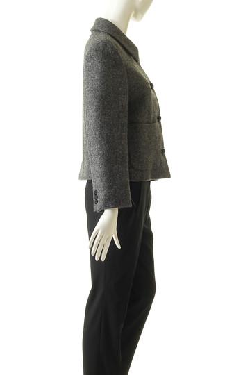 マーガレット・ハウエル/MARGARET HOWELLのウールショートジャケット(グレー/578-8225002)