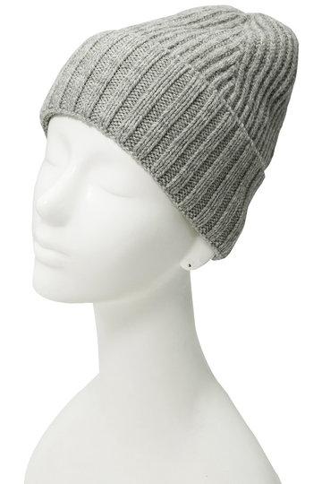 マーガレット・ハウエル/MARGARET HOWELLの【MHL.】ウールニット帽(グレー/595-8276501)