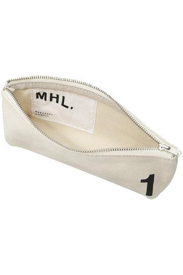 マーガレット・ハウエル/MARGARET HOWELLの【MHL.】ナンバリングペンケース(ホワイト/595-8293501)