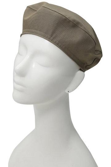 マーガレット・ハウエル/MARGARET HOWELLのウールコットンベレー帽(ベージュ/578-8276003)
