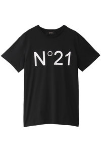 <ELLE SHOP>メンズ(MENS)ロゴTシャツ ブラック画像