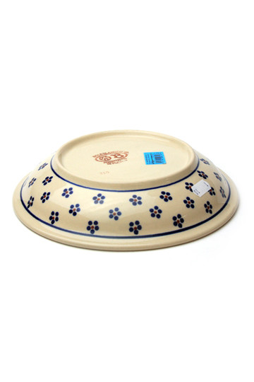 ポーリッシュポタリー/Polish Potteryのパスタ皿(ホワイト2/Z1002-111)