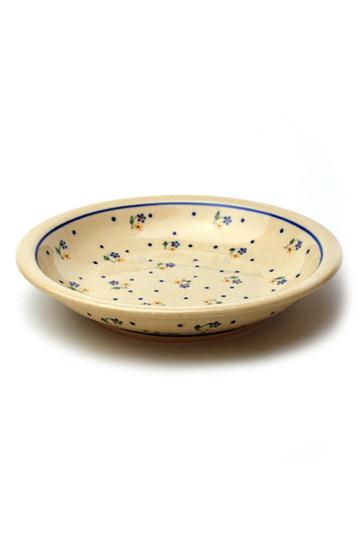 ポーリッシュポタリー/Polish Potteryのパスタ皿(ホワイト3/Z1002-111)