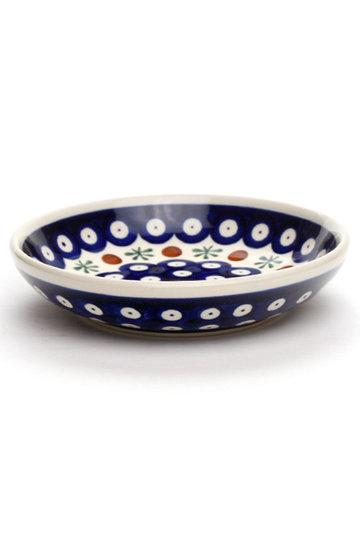 ポーリッシュポタリー/Polish Potteryの銘々皿(ブルー/Z1951-41)