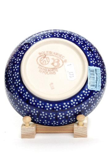 ポーリッシュポタリー/Polish Potteryの銘々皿(ブルー/Z1951-226A)