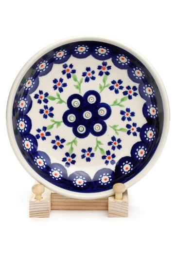 ポーリッシュポタリー/Polish Potteryの銘々皿(ブルー/Z1951-912)