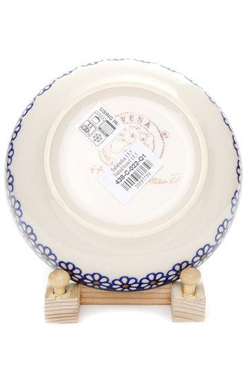 ポーリッシュポタリー/Polish Potteryの銘々皿(ブルー/V438-C022)