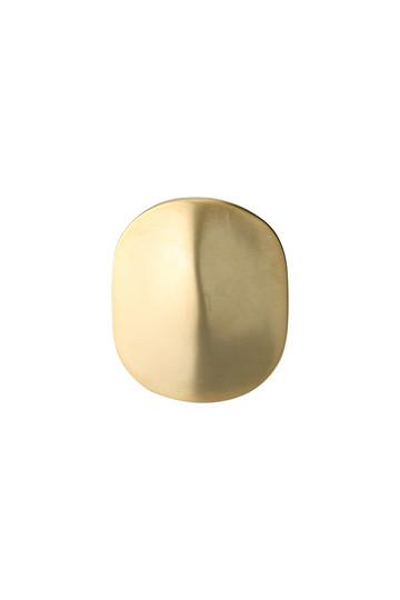 ソワリー/Soierieのデッドストックスクエアモチーフリング(ゴールド/517-064)