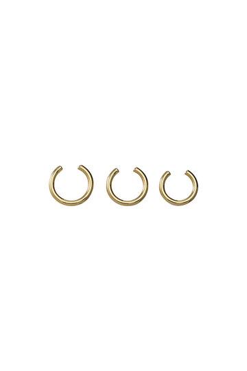 ソワリー/Soierieのヘリカルリング(3P)(ゴールド/519-027)