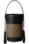 MORES筒型ハンドバッグ アデル ビジュー/ADER.bijoux ブラック