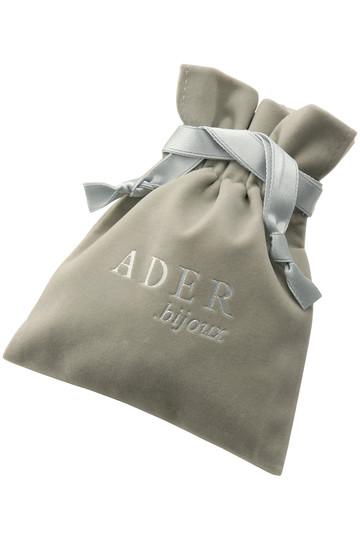 アデル ビジュー/ADER.bijouxのFEUILLES カットスチールイヤリング(ヴィンテージシルバー/RE-918 E)