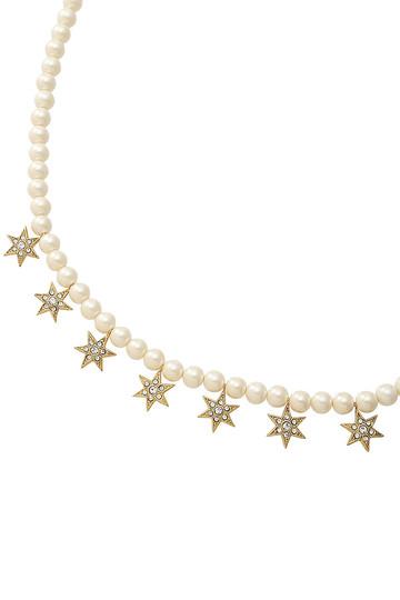 STAR パールショートネックレス アデル ビジュー/ADER.bijoux