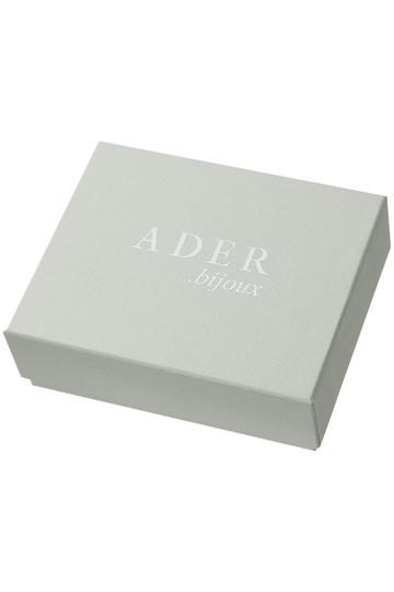 アデル ビジュー/ADER.bijouxのFILIGREE POP モンステラピアス(クリア/RE-1002 P)