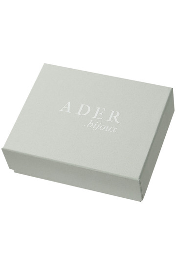 アデル ビジュー/ADER.bijouxのFILIGREE POP モンステラピアス(エメラルド/RE-1002 P)