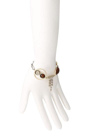 アデル ビジュー/ADER.bijouxのEARTH ブレスレット(ブリック×ゴールド/RB-1101)