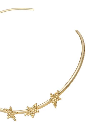 アデル ビジュー/ADER.bijouxのCUTSTEEL スターチョーカー(ゴールド/RN-1108)