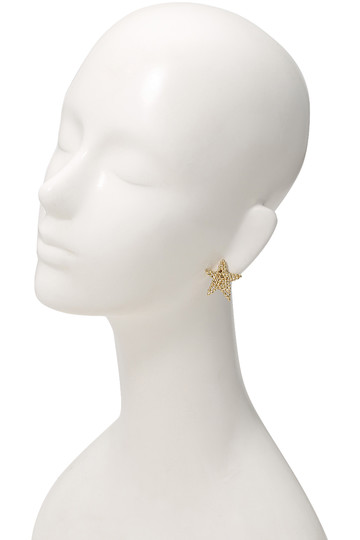 アデル ビジュー/ADER.bijouxのCUTSTEEL スターソロイヤリング(ゴールド/RE-1113E)