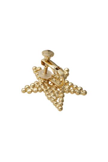 アデル ビジュー/ADER.bijouxのCUTSTEEL スターソロイヤリング(シルバー/RE-1113E)